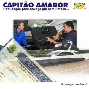 Capitão Amador, navegação sem limites