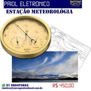 Estação Meteorológica Analógica